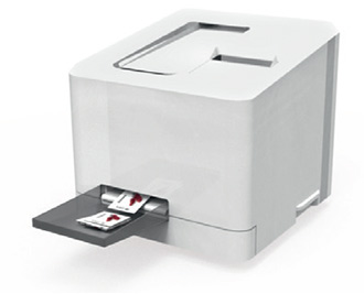 printer for electronic shelf edge labels
