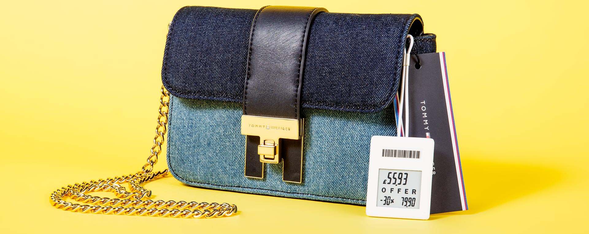 electronic fashion pricetag